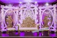 Stylish Wedding Grand Panel Stage