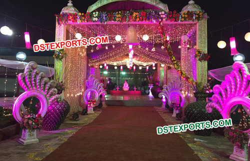 Fiber Decoration Indian Wedding Decorations