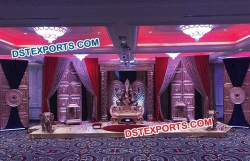 Bollywood Walima Wedding Stage