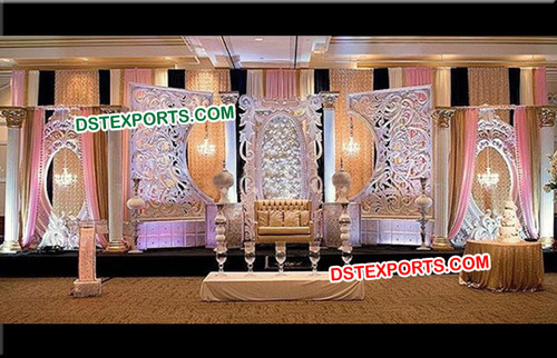 Bollywood Style Wedding Stage