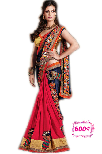 Festival Offer Bollywood Designer Party Wear Saree Sari