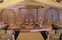 Antique Carved Wooden Wedding Mandap
