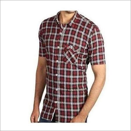 Mens Checked Shirts