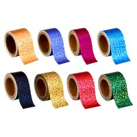 Self Adhesive Holographic Decorative Glitter Tapes
