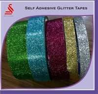 Glittery Tapes Self Adhesive Decorative Gift Wrapped Tapes
