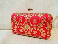 Beautiful Gotta Patti Box Clutch