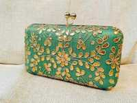 Stylish Gotta Patti Box Clutch