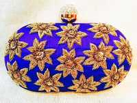 Traditional Handmade Box Clutch