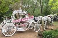 Princess Cinderella Pumpkin Horse Drawn Carriage