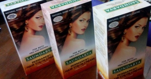 Ammonia Free Cream Hair Color Black