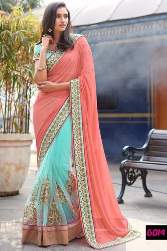 Best Offer Diwali Festival Bollywood Designer Party Wear Saree