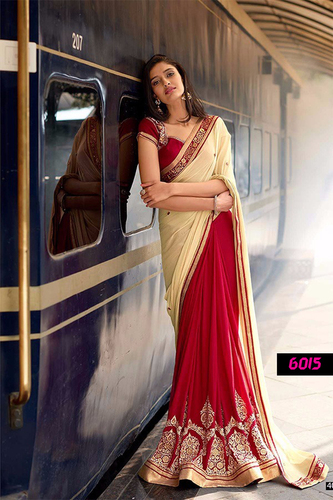 Diwali Festival Best Offer Bollywood Designer Party Wear Saree
