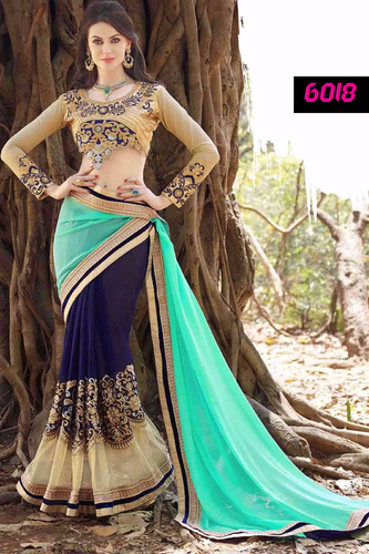 Festival Offer Best Price Bollywood Designer Party Wear Saree Sari