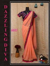 Festival Offer Fancy Bollywood Designer Party Wear Saree