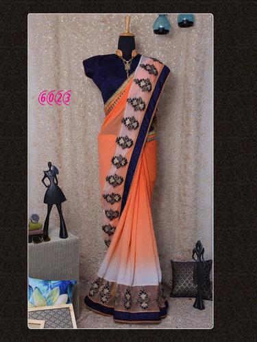 Bollywood Designer Party Wear Saree Sari Diwali Best Offer