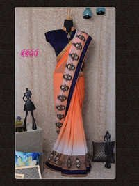 Bollywood Designer Party Wear Saree Sari Diwali Best Offer