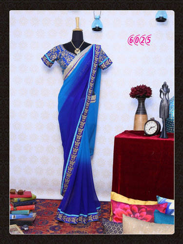 Exclusive Fancy Bollywood Designer Party Wear Saree