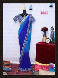 Exclusive Fancy Bollywood Designer Party Wear Saree Sari
