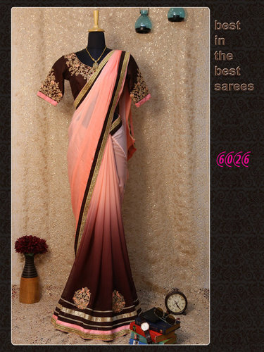 Festival Best Diwali Offer Bollywood Designer Party Wear Saree Sari