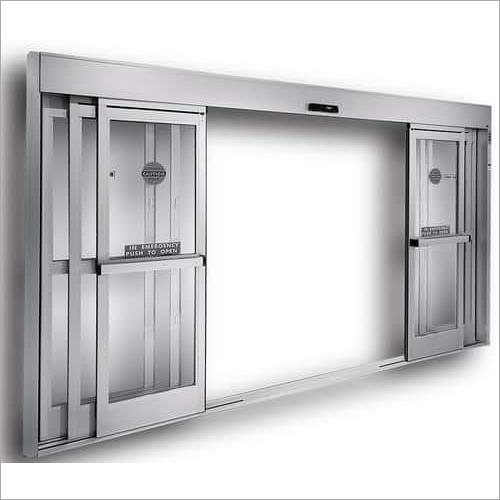 Telescopic Glass Sensor Door