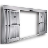 Telescopic Glass Sensor Door