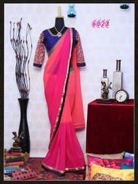 Best Offer Diwali Festival Bollywood Fancy Party Wear Saree