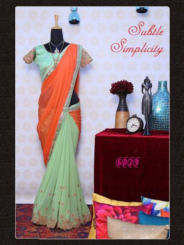 Bollywood Designer Exclusive Fancy Party Wear Saree Sari