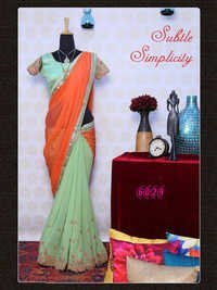 Bollywood Designer Exclusive Fancy Party Wear Saree Sari