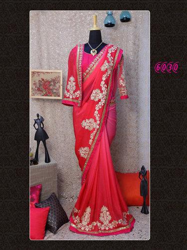 Best Offer Diwali Festival Bollywood Designer Party Wear Saree Sari