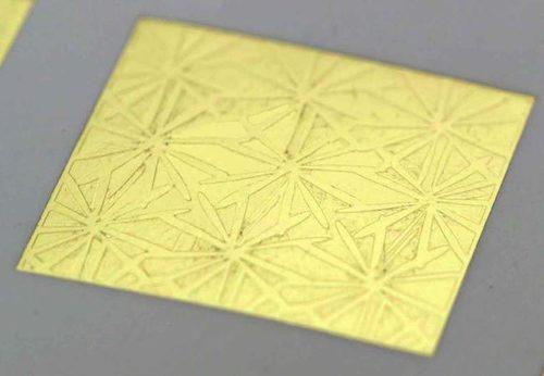 Textured Leafing Blocks