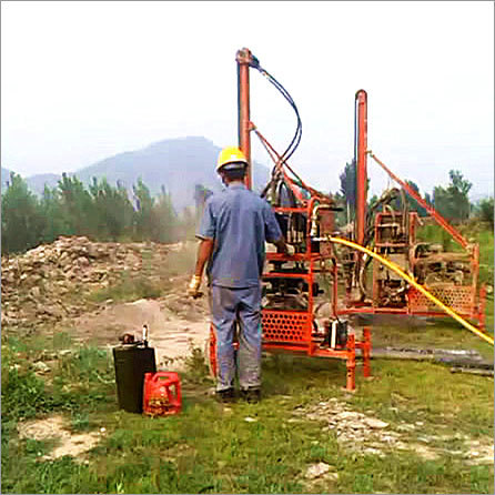 Hydraulic Portable Drilling Rig