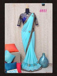 Bollywood Replica Designer Party Wear Saree Sari