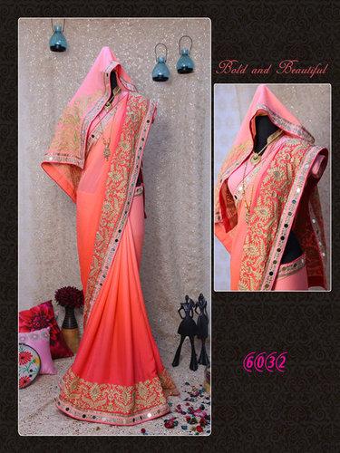 Best Diwali Offer Bollywood Designer Party Wear Saree Sari