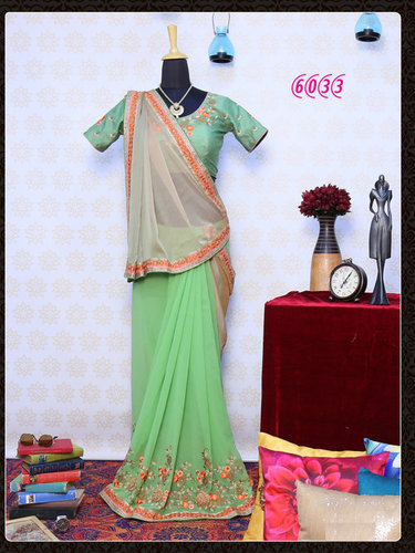 Festival Best Offer Bollywood Fancy Designer Party Wear Saree Sari