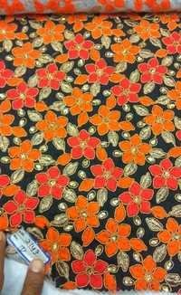 Blouse Embroidered Fabric