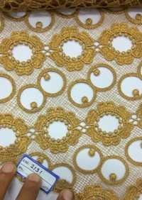 Cut Work Embroidered Fabric