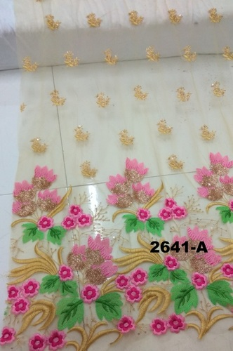 Daman Embroidered Fabrics