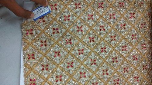 Embelished Embroidered Fabrics