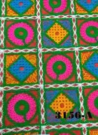 Kutchi Work Embroiderd Fabric