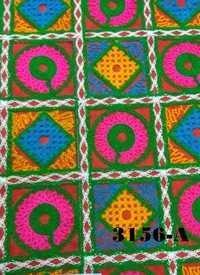 Kutchi Work Embroiderd Fabric