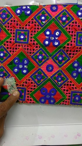 Mirror Embroidered Fabric