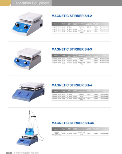 High Temperature Magnetic Stirrer