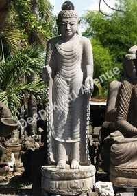 Tall Standing Buddha Statue