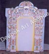 Lord Jain Marble Statue