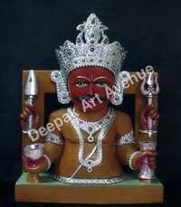 Nakoda Bhairu Marble Statue
