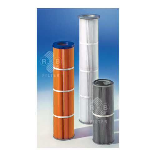 Industrial filter cartridges
