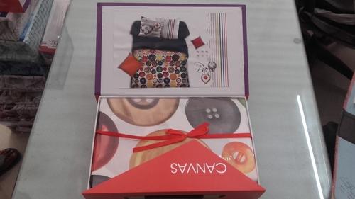 Gift packing diwali bed sheets