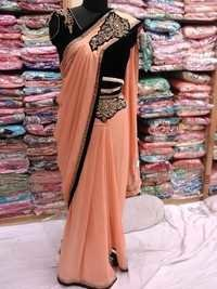 Ready Plates Saree