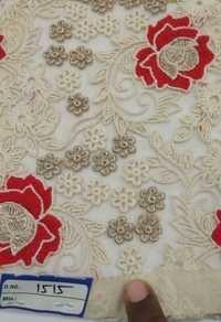 Multicolor Embroidered Fabrics