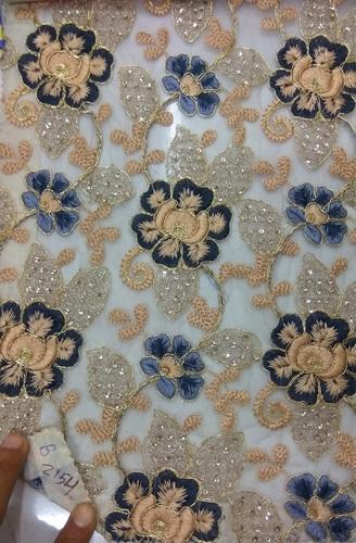 Wedding Embroidery fabric
